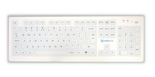 Medisch toetsenbord IP66 Draadloos (2)