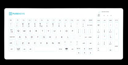 purekeys medisch toetsenbord Compact